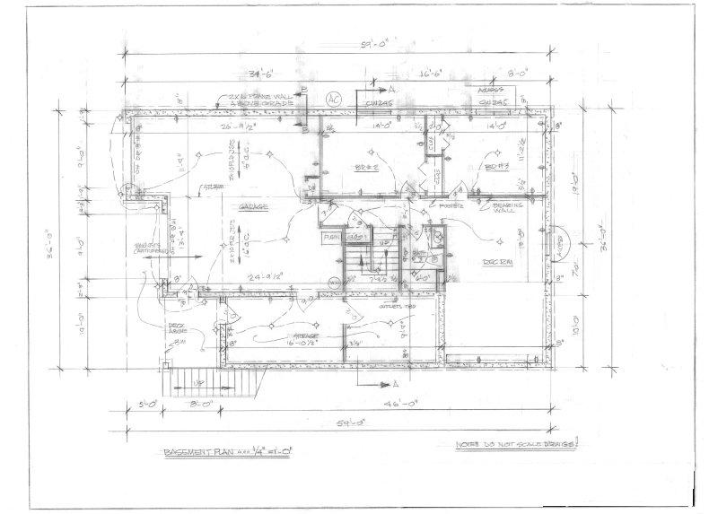 The basics of reading blueprints scale How to read plans for a house